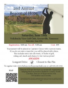 Beacon of Hope Charity Golf Tournament @ Nolichucky View Golf Club | Greeneville | Tennessee | United States
