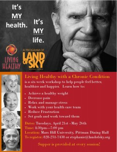 Living Healthy Workshop @ Mars Hill University, Pittman Dining Hall | Mars Hill | North Carolina | United States