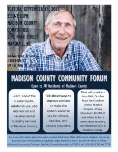 Madison County Community Forum @ Madison County Courthouse | Marshall | North Carolina | United States