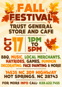 Trust Fall Festival @ Trust General Store | Hot Springs | North Carolina | United States