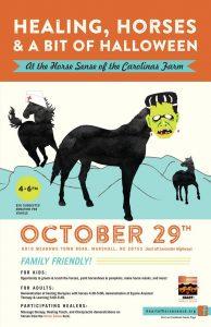 Healing, Horses and a Bit of Halloween @ Horse Sense | Marshall | North Carolina | United States