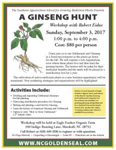 A Ginseng Hunt with Robert Eidus @ Eagle Feather Farm | Marshall | North Carolina | United States