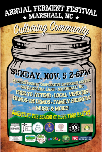 Fall Fermenting Festival @ Madison County Cooperative Extension Center | Marshall | North Carolina | United States