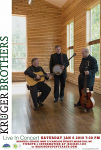 Kruger Brothers Concert @ Mars Hill University, Broyhill Chapel | Mars Hill | North Carolina | United States