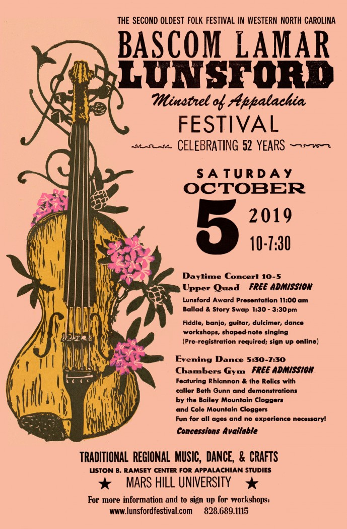 52nd Annual Lunsford Festival – Madison County Chamber of
